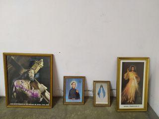 Pack de cuadros cristianos