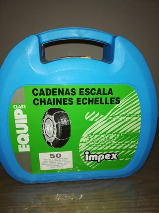 cadenas para neumáticos coche