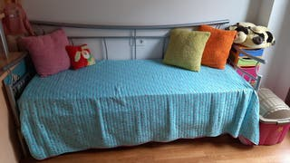 Sofa cama de forja