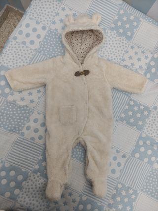 buzo borreguito oso bebé 3-6 meses kiddi's class
