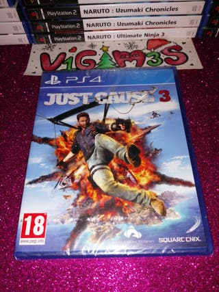 Just Cause 3 Nuevo ps4 PlayStation 4