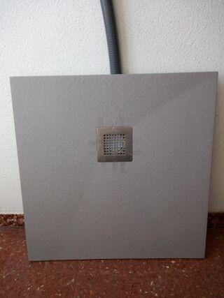 Plato Ducha de Fibra 70x71 cm