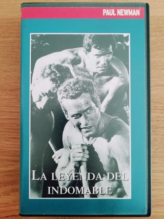 VHS PAUL NEWMAN. LA LEYENDA DEL INDOMABLE.