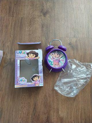 Reloj-Despertador Dora NUEVO