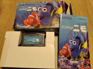 Game boy advance Finding Nemo version japonesa.