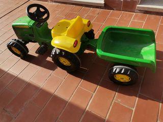 tractor juguete con pedales