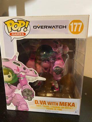 Funko Pop! D.Va with MEKA de Overwatch
