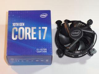 Ventilador CPU zocalo LGA 1200 I7 nuevo