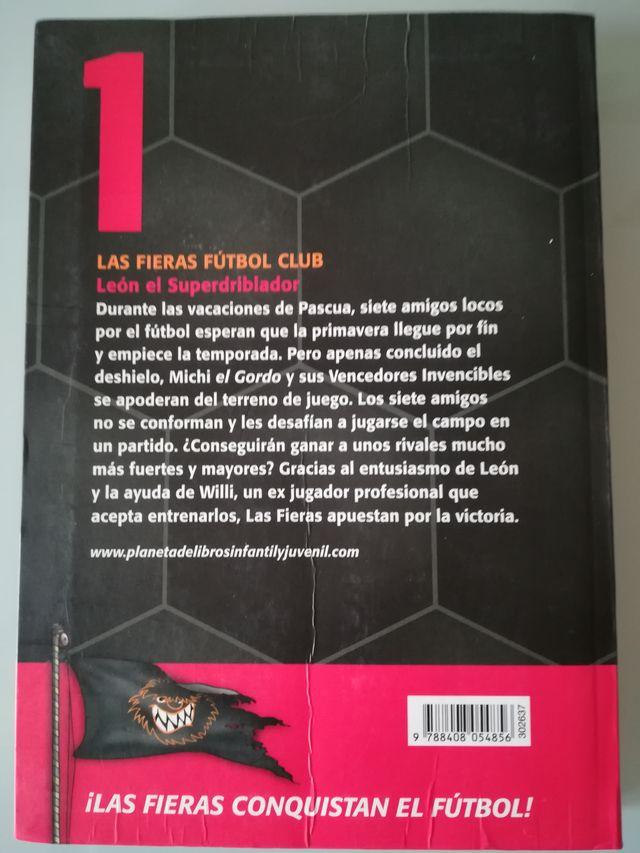 Libro infantil León el Superdriblador
