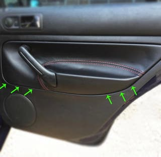 Tapizado puertas Golf IV