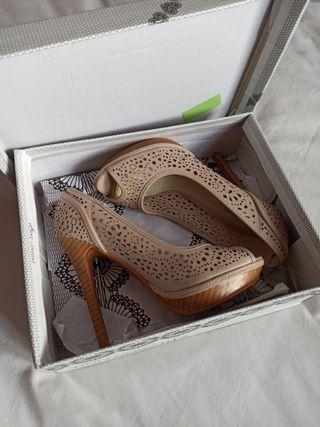 Zapatos tacón alto verano