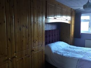 Solid pine fitted wardrobes