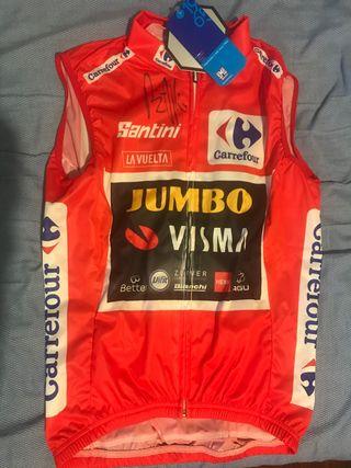 Maillot OFICIAL de la Vuelta 2020 firmado