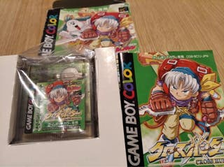 Game boy color Crosshunter Treasure Hunter version