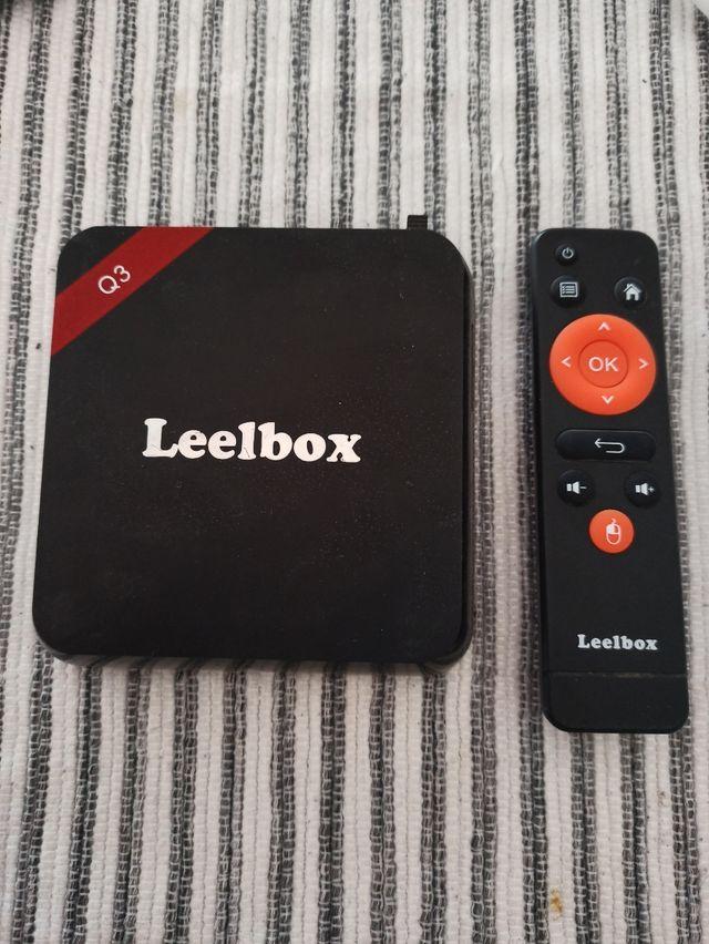 //Smart Box/Tv Box Leelbox Q3+Teclado de Regalo//