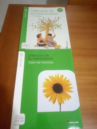 libros ciencias naturales 5°