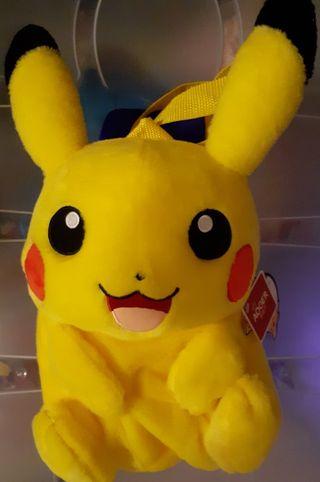 Mochila peluche para niño/a Pikachu Pokémon