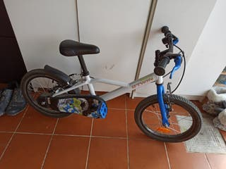 """Bici de niño con ruedas de 16"""""""