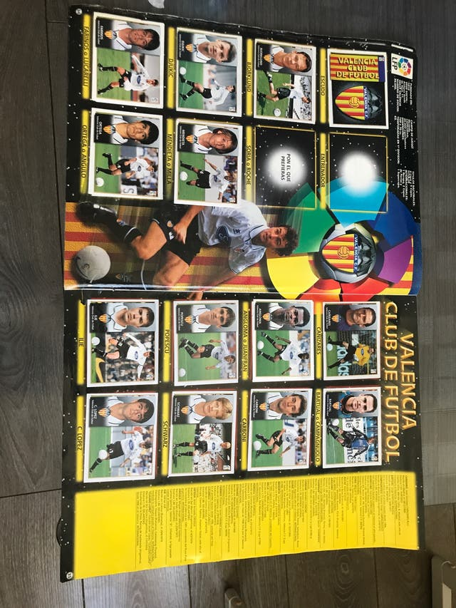 Álbum liga 98-99
