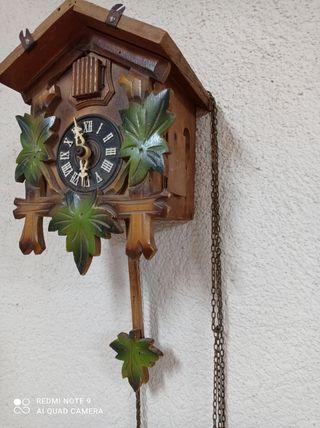 Reloj de pared cucú