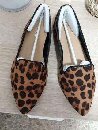 Bailarinas con estampado de leopardo (nuevas)