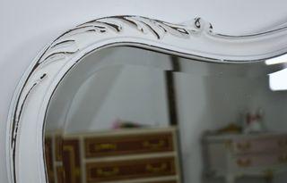 Espejo grande renovado vintage