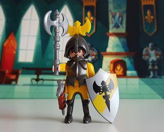 Playmobil Caballero del Hacha