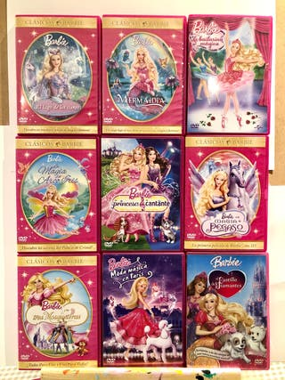 Lote Dvds Barbie