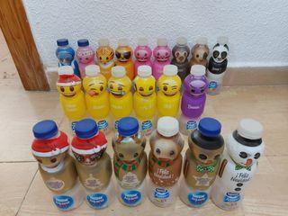 Botellas emoji whatsapp