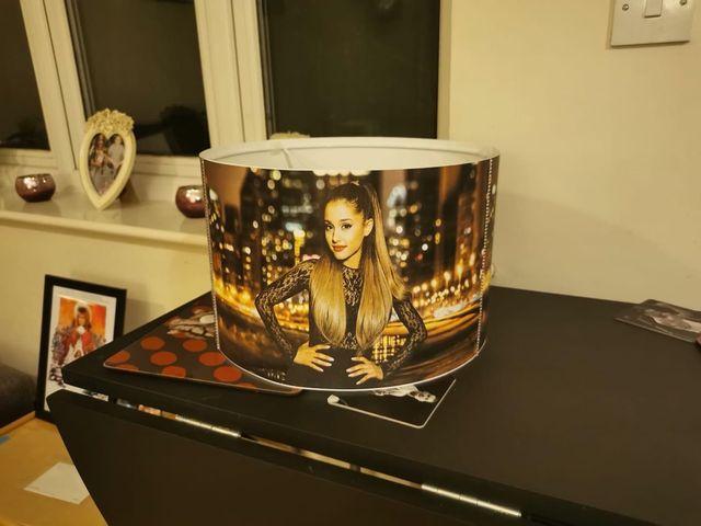 12inch Ariana Grande lampshade