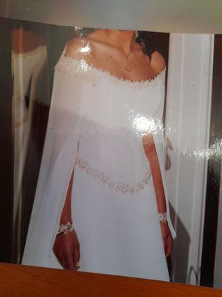 vestido de novia medieval