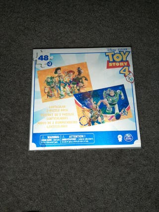 2 puzzles 3D Toy Story 4
