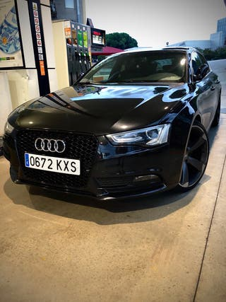 Audi A5 Sportback quattro Sline 2014
