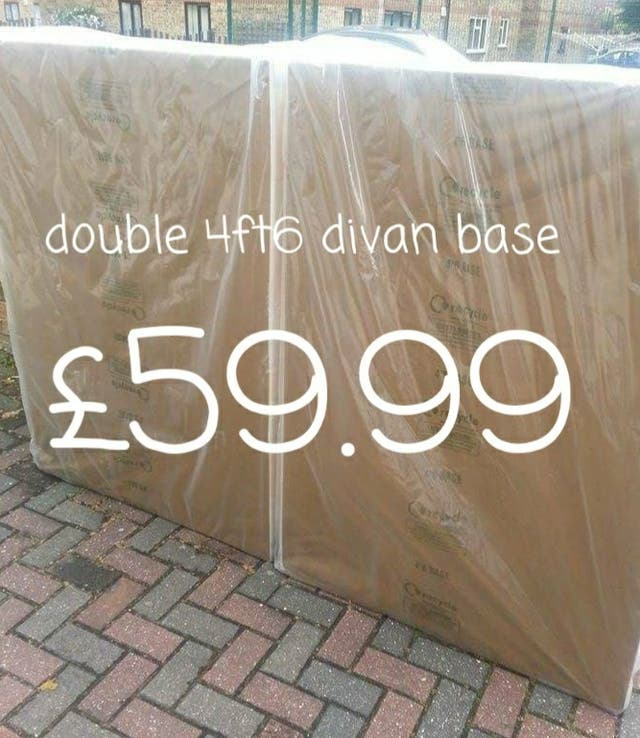 double 4ft6 divan base