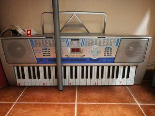piano, órgano.