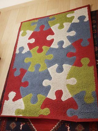 Alfombra puzzle niños