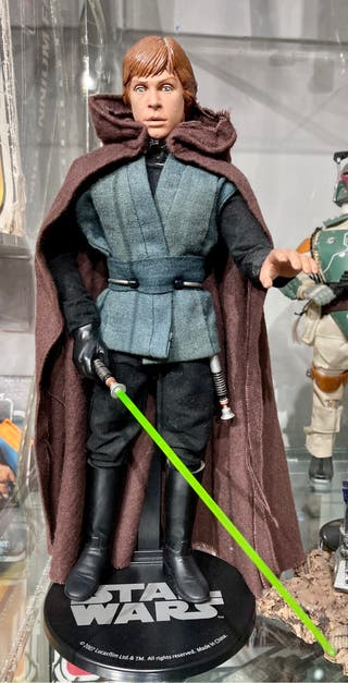 Star Wars Luke Skywalker jedi Sideshow