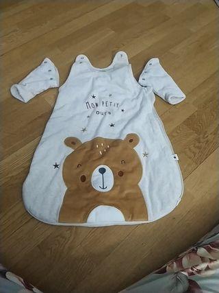 saco para bebé forro polar