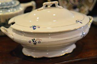 Sopera porcelana francesa