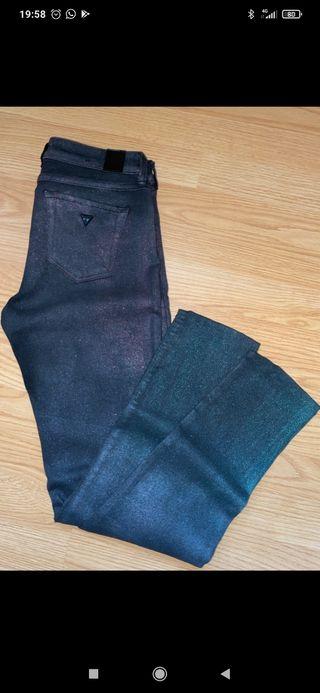 Pantalones Guess brillo