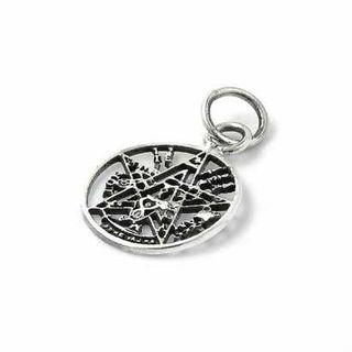 Colgante de plata tetragramaton 14 mm