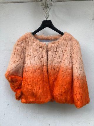 Abrigo de pelo Kling Naranja