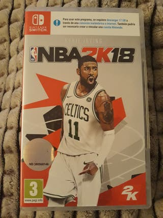 Juego NBA2K18 Nintendo Switch