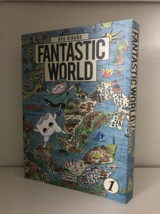 Fantastic world de Ryo Hirano Manga
