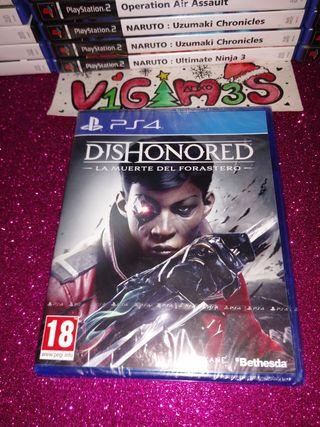 Dishonored La muerte del forastero ps4 PlayStation
