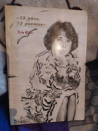 33 años, 33 poemas... Lola Villar