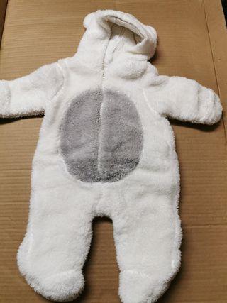 buzo polar bebe 0-3 meses