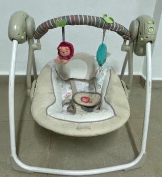 Columpio electrico bebe cozy Kingdom
