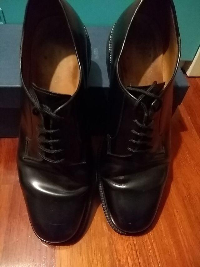 Zapatos negros Yanko. T 10,5 americano o 45