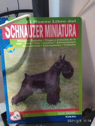 Libro perro Schnauzer